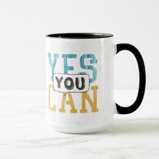 Oui vous pouvez tasse
