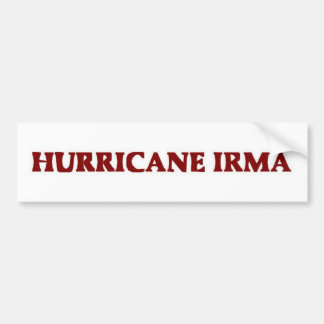 Ouragan Irma Bumpersticker Autocollant De Voiture