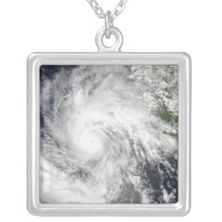 Ouragan Jimena Pendentif Carré