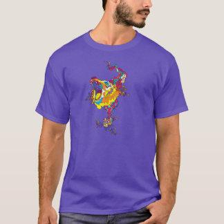 Ours acide psychédélique t-shirt