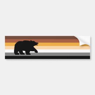 Ours avec fierté autocollant de voiture