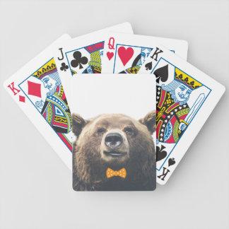 Ours avec l'arc jeu de poker