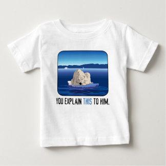 Ours blanc arctique t-shirt