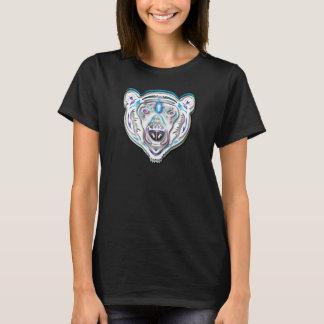 Ours blanc coloré t-shirt