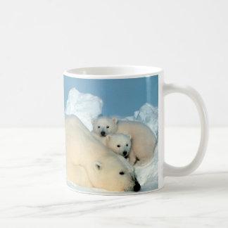 Ours blanc et CUB par Steve Amstrup Mug Blanc
