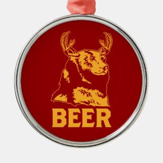 Ours + Cerfs communs = bière Ornement