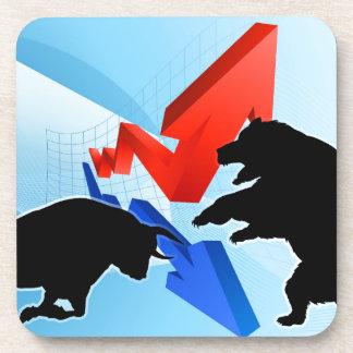 Ours contre le concept de marché boursier de sous-bocks