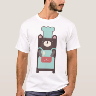 ours cuisinier t-shirt