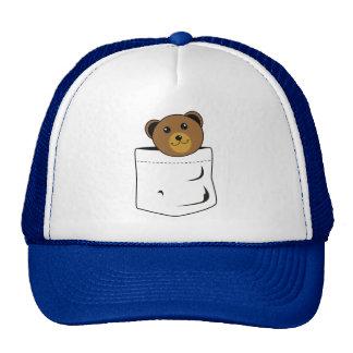 Ours dans la poche casquette trucker