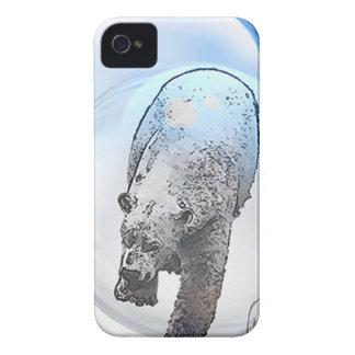 Ours dans le motif de bulle coque iPhone 4