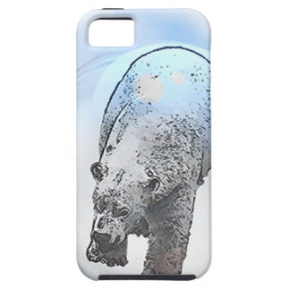 Ours dans le motif de bulle coques iPhone 5