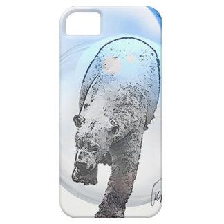 Ours dans le motif de bulle iPhone 5 case