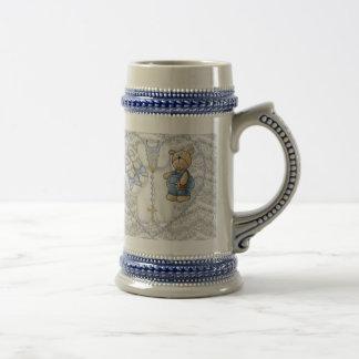 Ours de baptême de garçons mugs à café