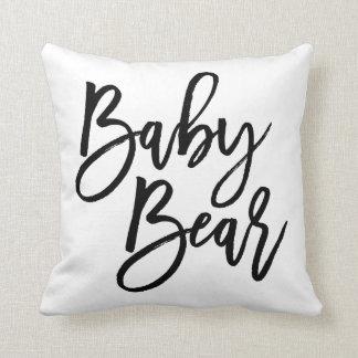 Ours de bébé oreiller