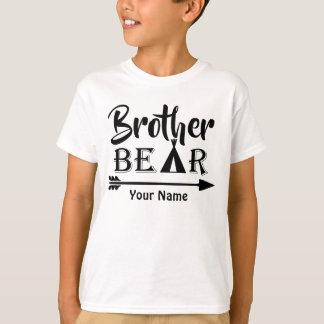 Ours de flèche de frère personnalisé t-shirt