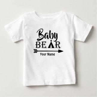 Ours de flèche de frère personnalisé t-shirt pour bébé