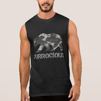 Ours de Furrocious Camo T-shirt Sans Manches