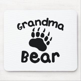 Ours de grand-maman tapis de souris