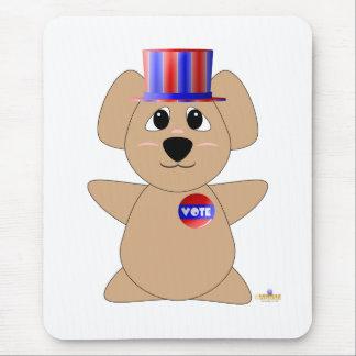 Ours de koala de vote gentil à croquer tapis de souris