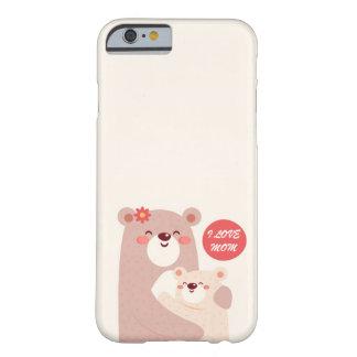 Ours de maman et d'enfant - maman d'amour d'I Coque Barely There iPhone 6