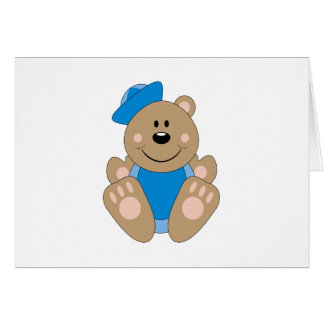 Ours de marin de bébé de Cutelyn Carte De Vœux
