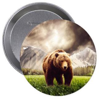 Ours de montagne badges