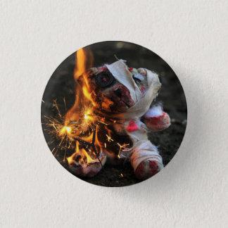 Ours de nounours d'apocalypse de zombi pin's