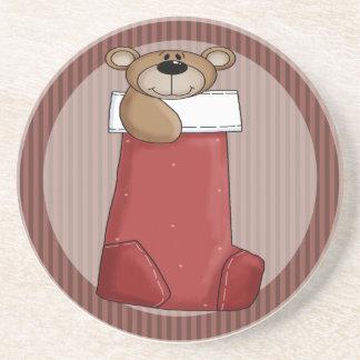 Ours de nounours de Noël Dessous De Verre