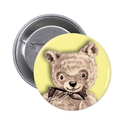 Ours de nounours mignon badge