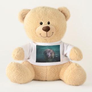 Ours de nounours mignon de lamantin de bébé avec