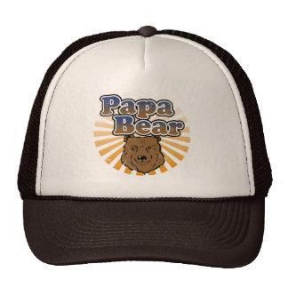 Ours de papa, regard vintage de fête des pères fra casquette