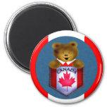Ours de poche de Candian Magnets Pour Réfrigérateur