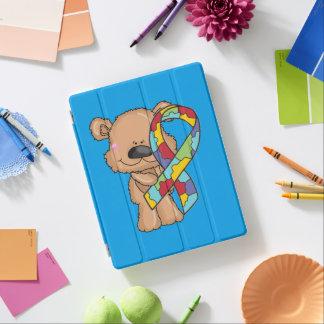Ours de sensibilisation sur l'autisme protection iPad