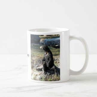 Ours de Sun au zoo Mug Blanc