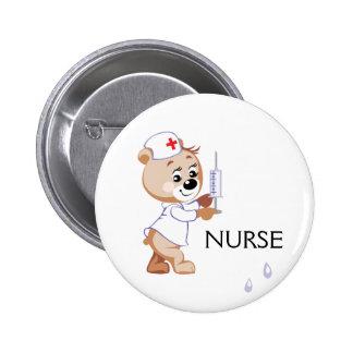 Ours d'infirmière badge