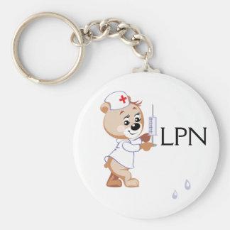 Ours d'infirmière porte-clés