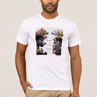 Ours du monde t-shirt