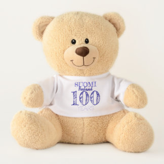 Ours En Peluche 100 Years Centenary of Finland's Indipendence day