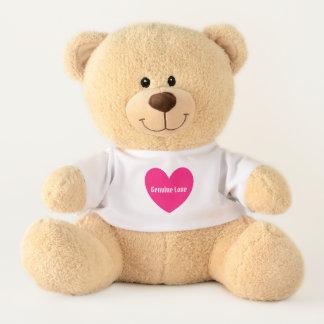 Ours En Peluche Amour véritable