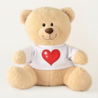 Ours En Peluche Coeurs d'amour