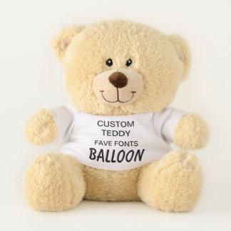"""Ours En Peluche Coutume 11"""" BALLON de modèle de jouet d'ours de"""