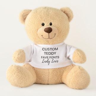 """Ours En Peluche Coutume 17"""" DAME LOVE de modèle de jouet d'ours de"""