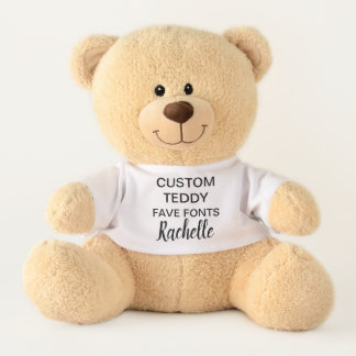 """Ours En Peluche Coutume 17"""" modèle RACHELLE de jouet d'ours de"""