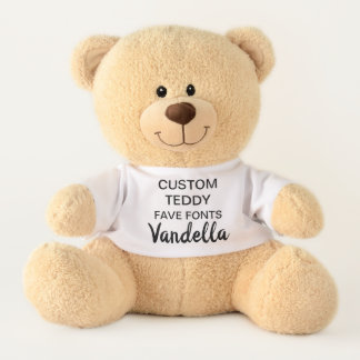 """Ours En Peluche Coutume 17"""" modèle VANDELLA de jouet d'ours de"""