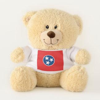 Ours En Peluche Drapeau d'état du Tennessee