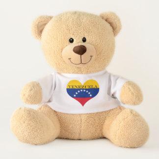 Ours En Peluche Drapeau du Venezuela