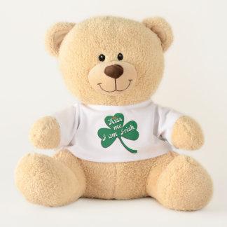 Ours En Peluche Embrassez-moi que je suis irlandais