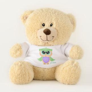 Ours En Peluche Hibou mignon du bébé de l'enfant