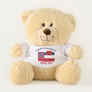 Ours En Peluche Le Mississippi vous aime