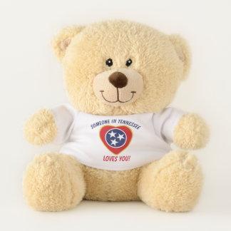 Ours En Peluche Le Tennessee vous aime